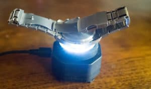 how to charge a solar watch fast
