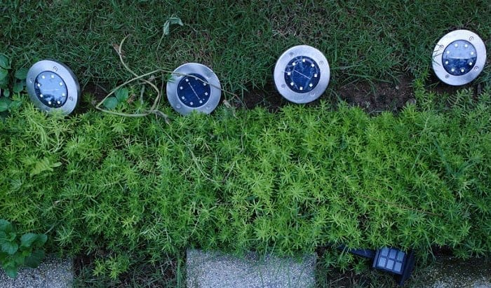 best solar disk lights