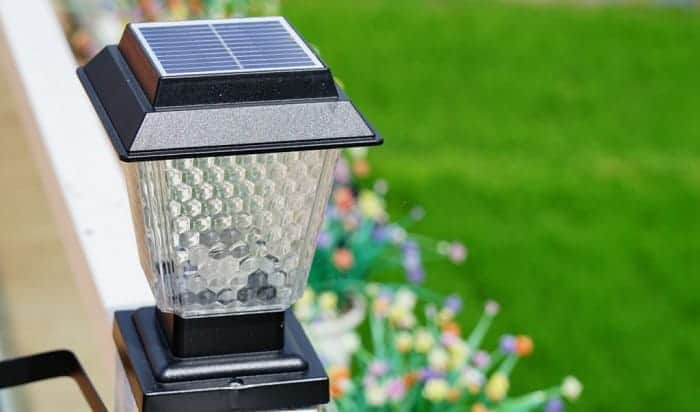 best solar lamp post