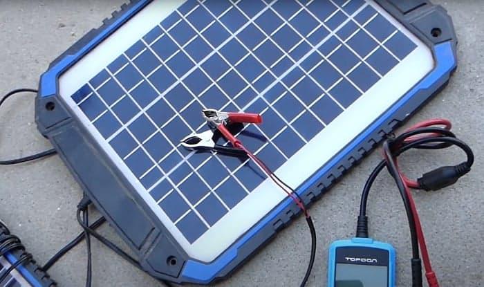 best 12 volt solar battery charger