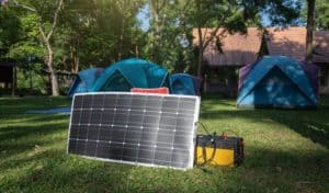 how long to charge 12v battery with 100 watt solar panel