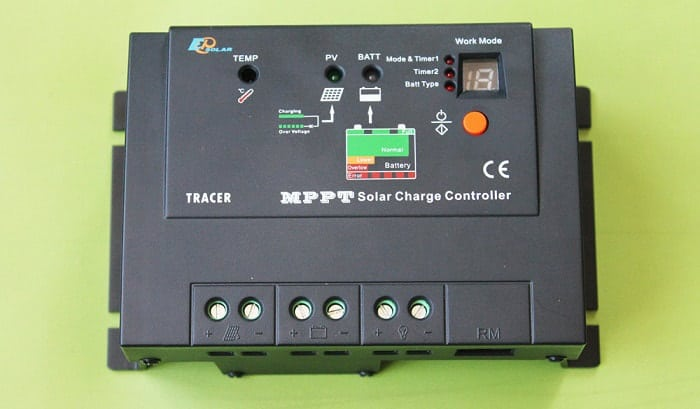 how to size mppt solar charge controller