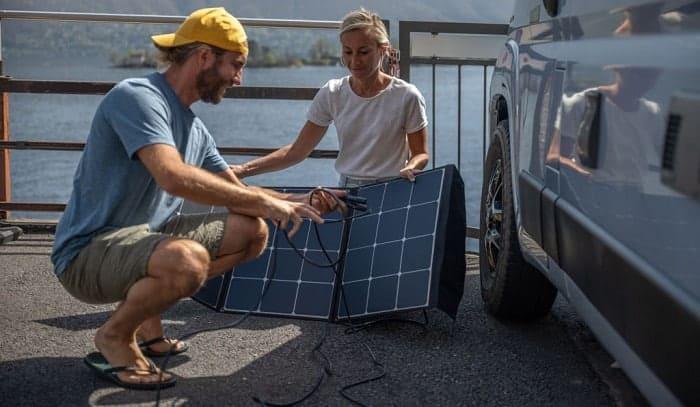 what can a 45 watt solar panel power