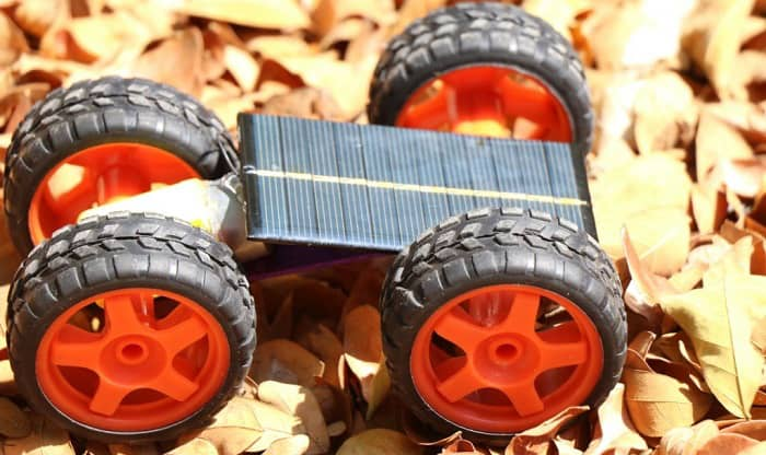 how to make a solar powered cars