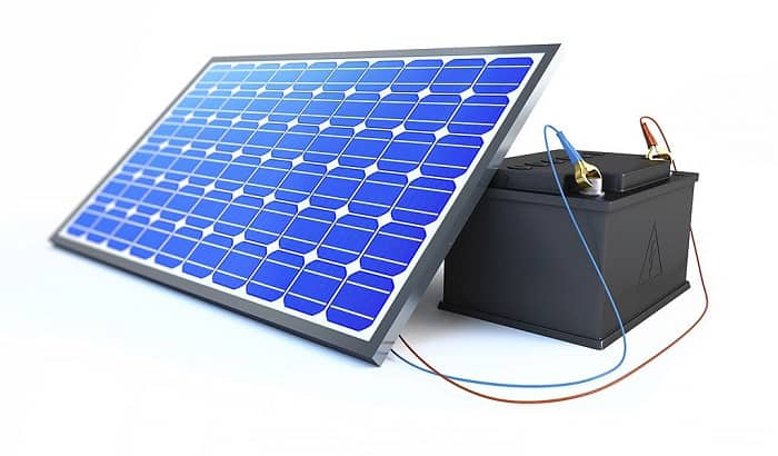 using-solar-panel-to-charge-battery