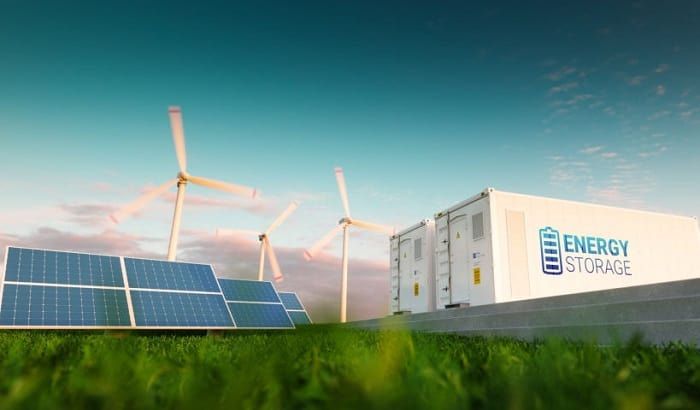how is solar energy stored