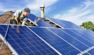 how to connect solar panels to the grid